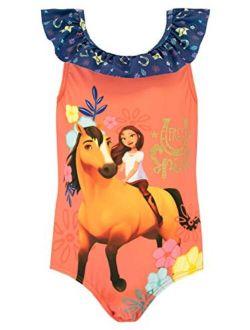 DreamWorks Girls' Spirit Riding Free Swimsuit