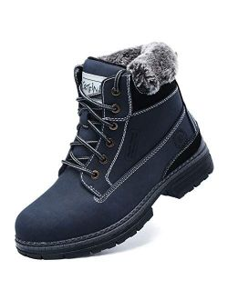 Cestfini Hiking Winter Snow Boots for Women - Fur Lining Warm Boots