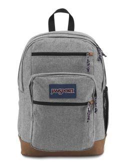 Cool Student Laptop Backpack, Grey Letterman