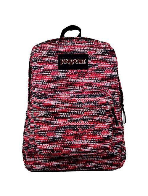 JanSport Women's Superbreak Fabric Backpack - Multi Sweater K