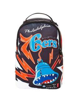 A 76ers Sprayground Lab Backpack