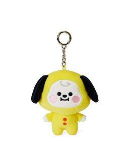 Baby Series Character Soft Plush Stuffed Animal Keychain Key Ring Bag Charm, 4.3 Inch