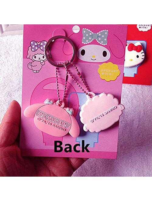 Kerr's Choice My Melody Key Chain Key Cover Key Caps Bag Accessories Sanrio Gift Keychain -- My Melody