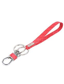 Wristlet Keychain - Lanyard Key Chain with Detachable Alloy Metal Rings