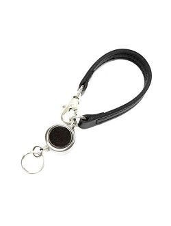 Bell la bell Women's Reel Strap Leather Key Ring With Reel