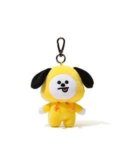 Chimmy Character Soft Plush Stuffed Animal Keychain Key Ring Bag Charm, 12 Cm, Yellow
