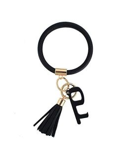 Large Circle Bangle Keychain Touchless Door Opener Clean Key Germ Multitool Holder Upgraded Keyring Wristlet Bracelet