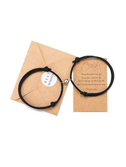 Tarsus Magnetic Couple Bracelet Set Vows of Eternal Love Jewelry Gifts for Couple Bestfriend