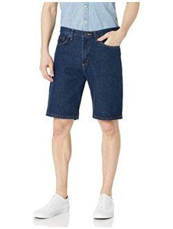 Authentics Men's Classic Relaxed Fit Five Pocket Jean Short