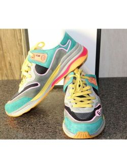 Ucci Suede Cross Training Colorful Sneakers Athletic Shoes