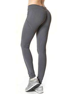 Butt Lift Leggings Scrunch Butt Push Up Leggings Yoga Pants For Women Workout Tights