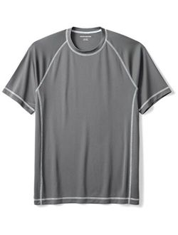 Men's Short-sleeve Quick-dry Upf 50 Swim Tee