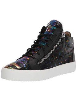 Giuseppe Zanotti Lace Up Chain Decor Sneaker