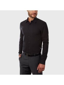 Fit Long Sleeve Flex Button-down Shirt - Van Heusen