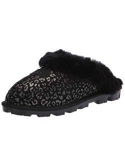 Women's Coquette Snow Leopard Slipper