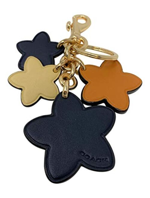Coach Wildflower Mix Bag Charm Style No 5136 Bright Ginger Multi