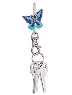 Finders Key Purse Key Finder Cool Butterfly, Blue,Purple