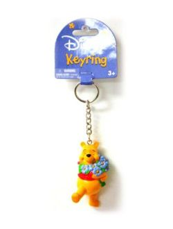 Winnie The Pooh Pvc Figural Key Ring