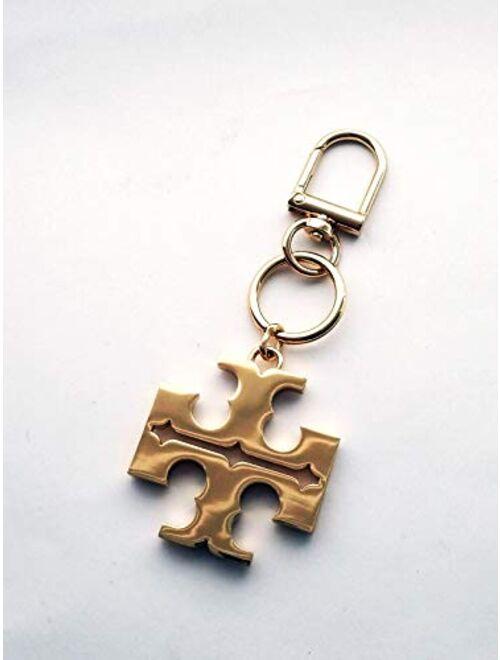 Tory Burch Women's Logo Keychain Key Fob