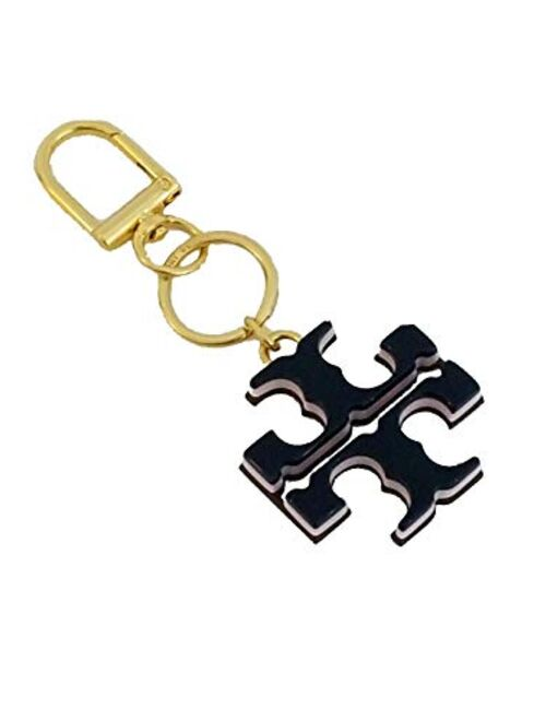 Tory Burch Resin Logo Keyfob keychain