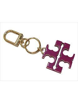 Resin T Logo Keyfob Key Chain 52913 (party Fuschia/shell Pink)