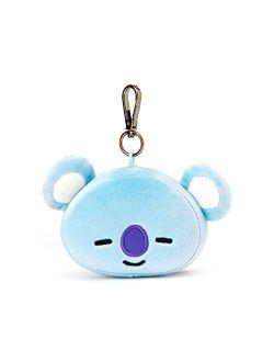 Koya Character Soft Plush Stuffed Animal Keychain Key Ring Bag Charm, 10 Cm, Blue
