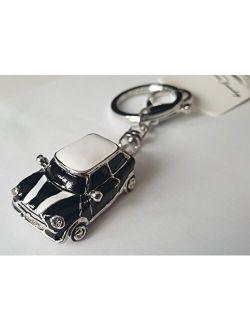 Mini Style Car Keychain Gift Rhinestone Detail Cooper Novelty