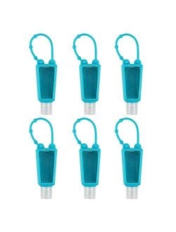 LONGWAY Portable Travel Bottles, 30ml Leak Proof Refillable Travel Containers Empty Bottles Perfect for Hand Sanitizer, Liquid Soap, Lotion