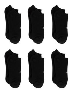 Men's Double Dry Performance No-show Socks, 6 Pack