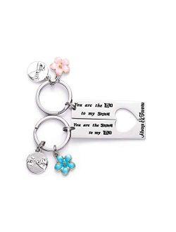LParkin Lilo and Stitch Best Friend Keychain Friendship Gift You are The Lilo to My Stitch Lilo and Stitch Inspired Couple Keychain Gift for BFF