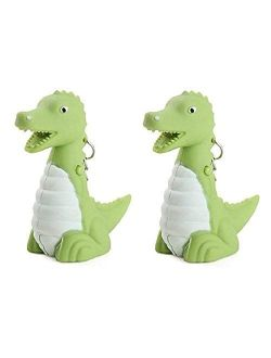 BG247 Animal Keychain with LED Light And Sound - 2-Pack