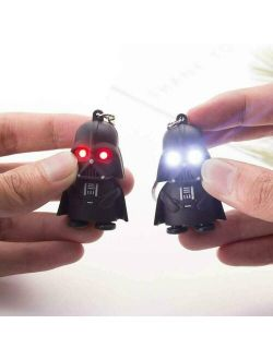 Keychain With LED Light Star Wars Darth Vader With Sound Keyring Chic Gift