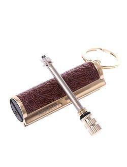 GMSP Classic Keychain With Lighter Permanent Match Striker Lighter Keyring Useful