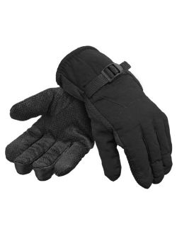 Men's Thinsulate 3M Water Resistant Fully Fleeced Lined Winter Snow Ski Gloves