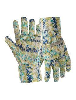 Digz 7342-26 Canvas Garden Gloves With Dots, Medium