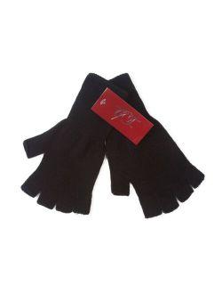 Plain Unisex Fingerless Gloves