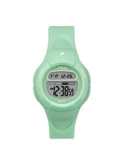 Kids Green Digital Girls Watch 38-213-007