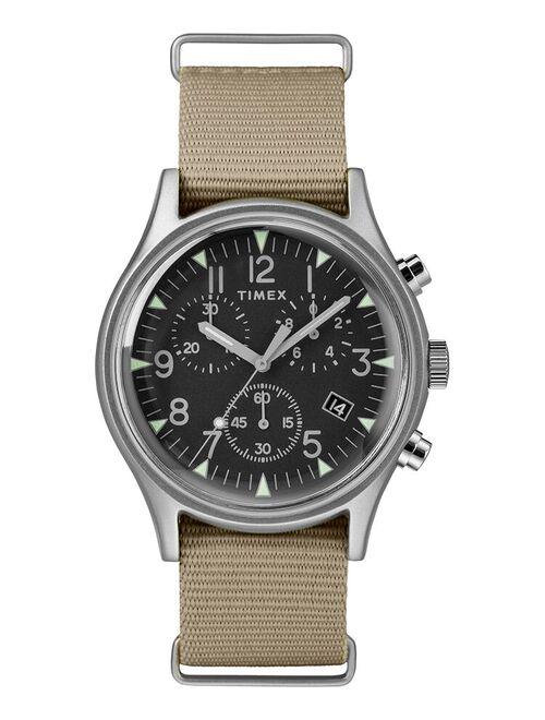 Timex MK1 Chrono Nylon Indiglo Mens Watch TW2T10700VQ