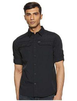 Silver Men's Long Sleeve Ridge Shirt 2.0