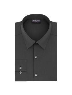 Eusen Slim-fit 4-way Stretch Flex 3 Point-collar Long Sleeve Dress Shirt