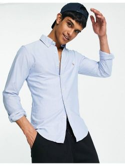 Oxford Shirt In Slim Fit Blue