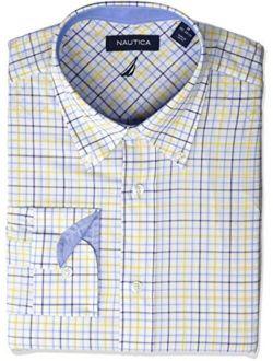 Men's Classic Fit Button Down Collar Dress Shirt