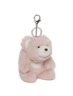 Enesco Snuffles the Plush Teddy Bear Keychain - Pink