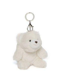 Enesco Snuffles the Teddy Bear Keychain White Plush