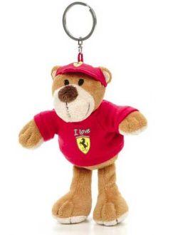 Ferrari Teddy Bear Keychain