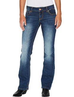 Women's Retro Mae Jeans Boot Cut Blue 5w X 32l