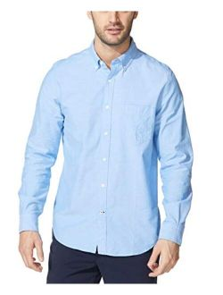Men's Long Sleeve Button Down Oxford Shirt