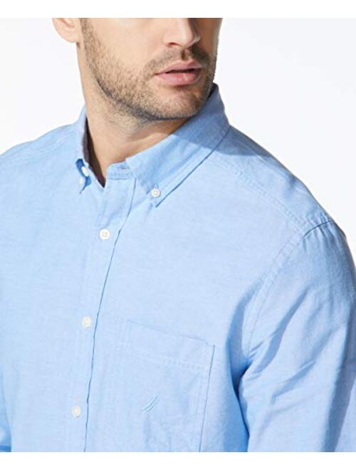 Nautica Men's Long Sleeve Button Down Oxford Shirt