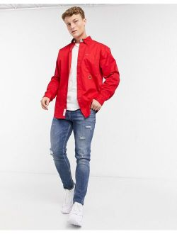 Iconic Reissue Twill Shirt In Red