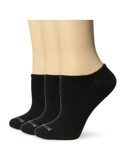 No Nonsense Women's Ahh Said The Foot No Show Liner with Pique Welt 3-Pack